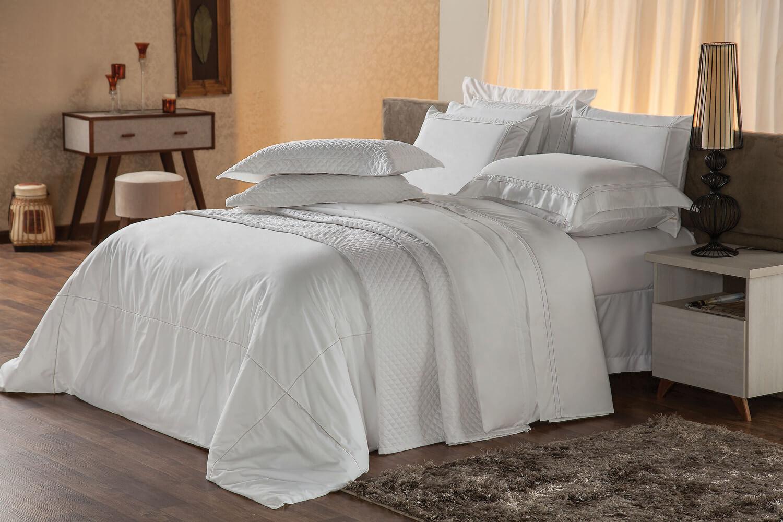 Jogo de Cama Premium Harmonious White