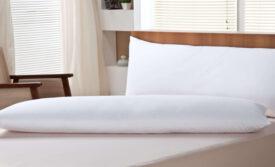 Body Pillow 100% Penas de Ganso
