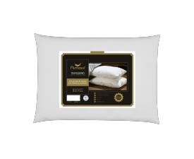 Travesseiro Perfezione 50% Plumas de Ganso 50% Fibras Siliconadas